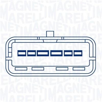 Moteur de leve vitre MAGNETI MARELLI 350103640000 (X1)