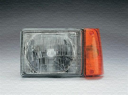 Blanc Van Wezel 1708958 Phare droit avec clignotant