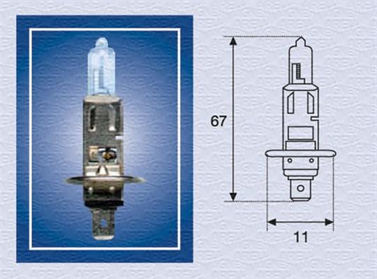 Ampoules MAGNETI MARELLI 002552100000 (X1)