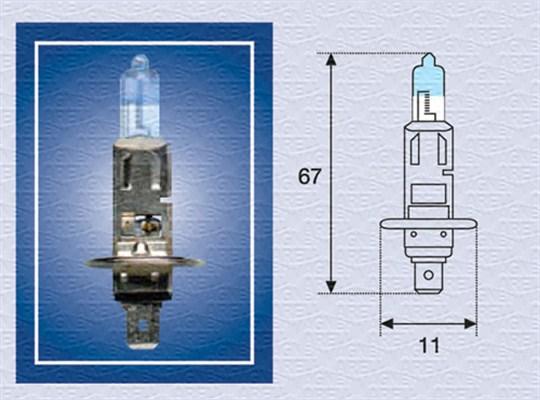 Ampoules MAGNETI MARELLI 002587100000 (X1)
