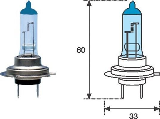 Ampoules MAGNETI MARELLI 002603100000 (X1)