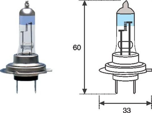 Ampoules MAGNETI MARELLI 002586100000 (X1)
