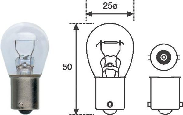 Ampoules MAGNETI MARELLI 008506100000 (X1)