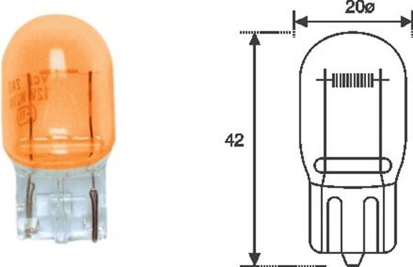 Ampoule, feu clignotant MAGNETI MARELLI 002052300000 (X1)