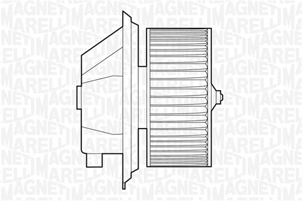 Chauffage et climatisation MAGNETI MARELLI 069412514010 (X1)